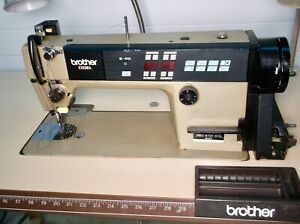 Brother Industrial Sewing Machine Exedra E 40 Mark Ii Db2 b737 413 W table