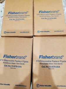 Fisherbrand Disposabe Pasteur Pipetts 13 678 20a