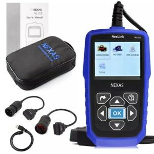 Nexas Nl102 Hd Heavy Duty Diesel Truck Diagnostic Scanner Tool Code Reader