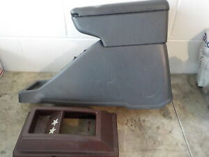 87 95 Nissan Pathfinder D21 2pc Center Console Arm Rest Must See