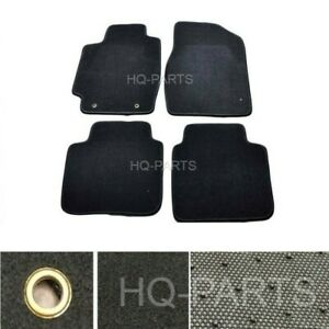 New 4 Pieces Black Nylon Carpet Floor Mats Fits For 02 06 Toyota Camry