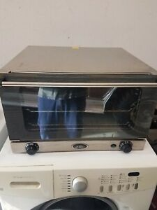 Working Cadco Unox Ov 350 Countertop Commercial Convection Oven Free Shipping