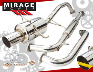 For 00 03 Nissan Maxima V6 Dohc Performance 2 5 Catback Exhaust System Muffler