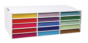 Classroom Keepers Construction Paper Storage 15 Slot