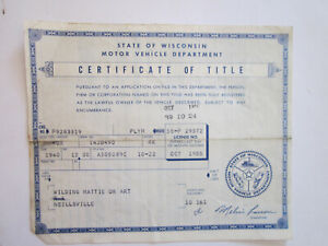 1940 Plymouth 4 Door Barn Find Historical Document