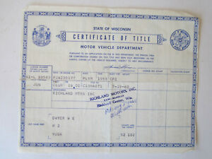 1953 Plymouth Coupe Barn Find Historical Document