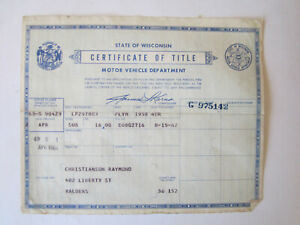 1958 Plymouth 4 Door Barn Find Historical Document