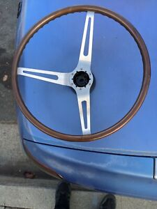 1968 Rosewood Camaro Steering Wheel