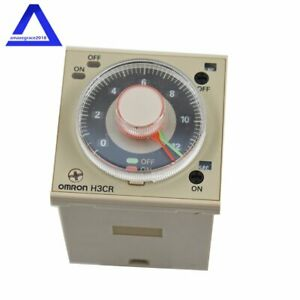 Omron Plc Twin Timer H3cr f8 100 240vac Free Shipping New