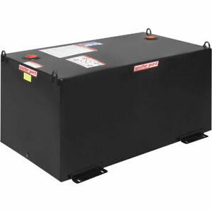 New Weather Guard Rectangle Transfer Tank Black 100 Gallon Capacity