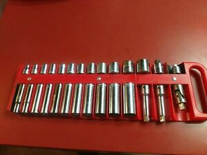 Craftsman Metric Socket Set With Extras Usa