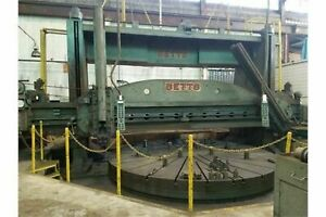 Betts 20 bridge 84 ram Stroke Vertical Boring Mill W 16 table 4 Movable Jaws