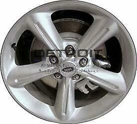 18 Ford Mustang Wheel Rim Factory Oem 3834 2008 2012 Silver