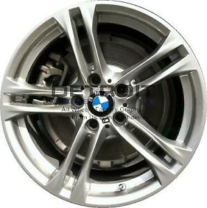 18 Bmw 528i Wheel Rim Factory Oem 71627 2011 2016 Silver