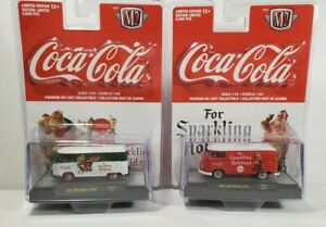 M2 MachinES  Coca-Cola 1960 VW Delivery Van SC01 18-33 18-32  SPARKING HOLIDAY
