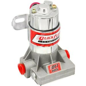 Quick Fuel 30 105qft Electric Fuel Pump 105 Gph 7 Psi 3 8 Npt Inlet And Outlet F