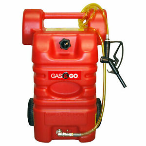 Gas Go Poly Fuel Caddy 15 Gallon