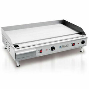 Eurodib United Stainless Steel 36 Electric Griddle Sp04910 240