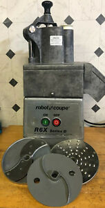 Robot Coupe R6x Series D Commercial Food Processor With 2 Blades