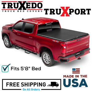Truxedo Truxport Soft Roll Up Bed Cover 19 20 Gm Silverado Sierra 1500 5 8 Bed