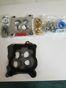 Holley Adapter Plate And Fuel Pressure Regulator Kit