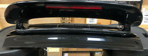 Porsche 911 Rear Spoiler Metal Engine Lid With 3rd Brake Light Sold As Is