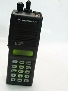 Motorola Mts2000 800mhz Model Iii Portable Two way Radio H01uch6pw1bn