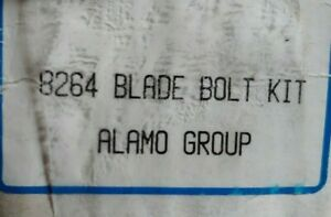 Alamo 8264 Blade Bolt Kit Bush Hog Rotary Mower Rb5c