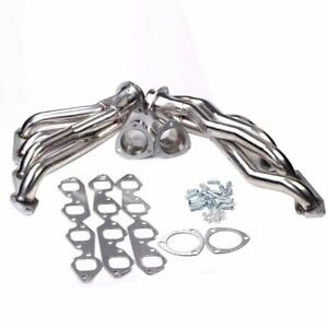 Stainless Steel Shorty Headers For Chevy Bbc 396 402 427 454 502 Camaro Chevelle