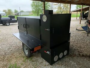 Bbq Cabinet Smoker Catering Grill Sling n Steel Custom Smokers