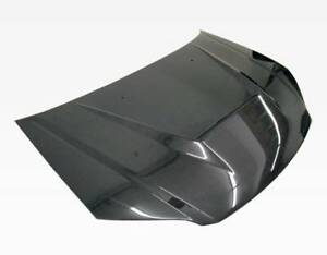 Vis Racing Invader Style Carbon Fiber Hood For 2004 2005 Honda Civic 2dr 4dr