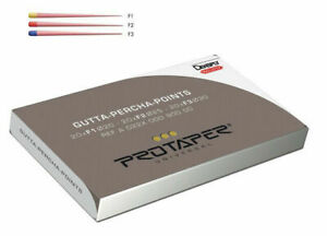 Dentsply Protaper Universal Obturation 60 X Gutta Percha Points F1 f2 f3