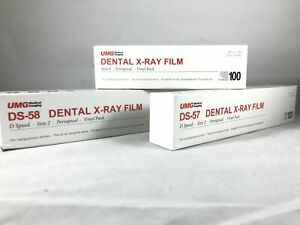 Umg Dental Xray Film Poly Soft D Speed Size 0 Or 2 Single Or Double Fda