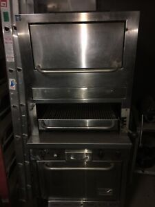 Southbend Gas Infrared Broiler With Oven Warming Oven Refurbished