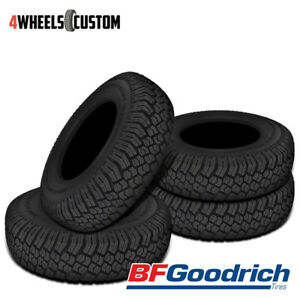 4 X New Bf Goodrich Commerical T A Traction Lt235 85r16r10 120 116q Tires