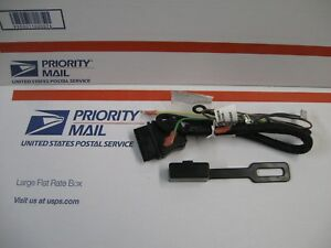Western Fisher Oem Part 26359 3 pin Plow Side Control Harness New W plug Cover