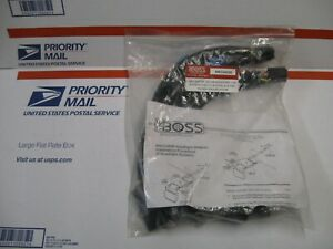 Boss Plow 13 pin Headlight Adapter Harness Msc04599 For Some Chevy Ford Dodge