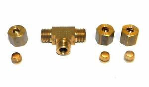 Big A Service Line 3 16430 Tee Connector Fitting 3 16