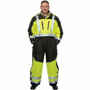 Occunomix Speed Collection Premium Cold Weather Coverall Hi viz Yellow 3xl