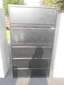 2 Used 5 Drawer Lateral Size File Cabinets pickup Only At 08638