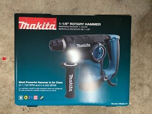 Makita Hr2811f 1 1 8 inch Rotary Hammer Sds plus With L e d Light