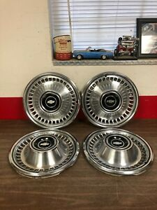 1971 1972 Chevy Impala 15 Hubcaps Maybe Nos Nice 220