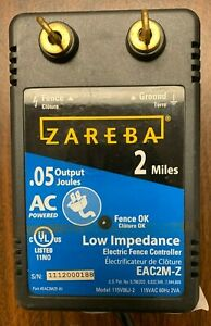 Zareba Ac Powered Electric Fence Charger Eac2m z