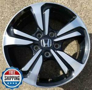 Honda Civic 2013 2014 2015 Oem Factory Wheel 16 Rim 64062 Black Cnc B1