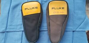 2 Nice Fluke 771 Milliamp Process Clamp Meter With Soft Case Very Clean