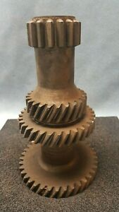Ford Jeep T18 4 Speed Transmission 2wd 4wd Cluster Gear Counter Shaft Nos