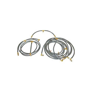 1962 1963 Ford Thunderbird Convertible Top Hose Set 5 Pieces For 1 3 4