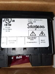 Simpson H335 Digital Panel Meter