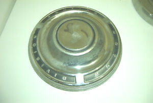 1 Oe Early 60s Pontiac 9 5 Inch Dog Dish Hubcap Tempest lemans