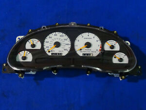 96 97 Ford Mustang Cobra Instrument Cluster 160 Mph Speedometer 121k Miles